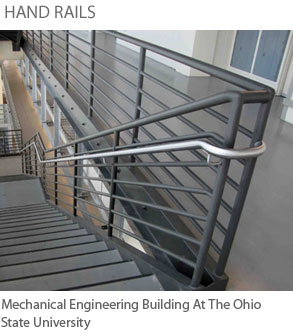 Prefabricated Steel Stairs, Railings, And More From Pinnacle Metal Products