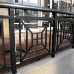 Exterior Steel Rails