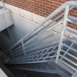 Galvanized Exterior Stair Way