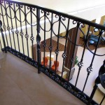 Ornamental Pickets With Steel Rail