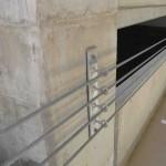 Parking Garage Wire Guard Rails