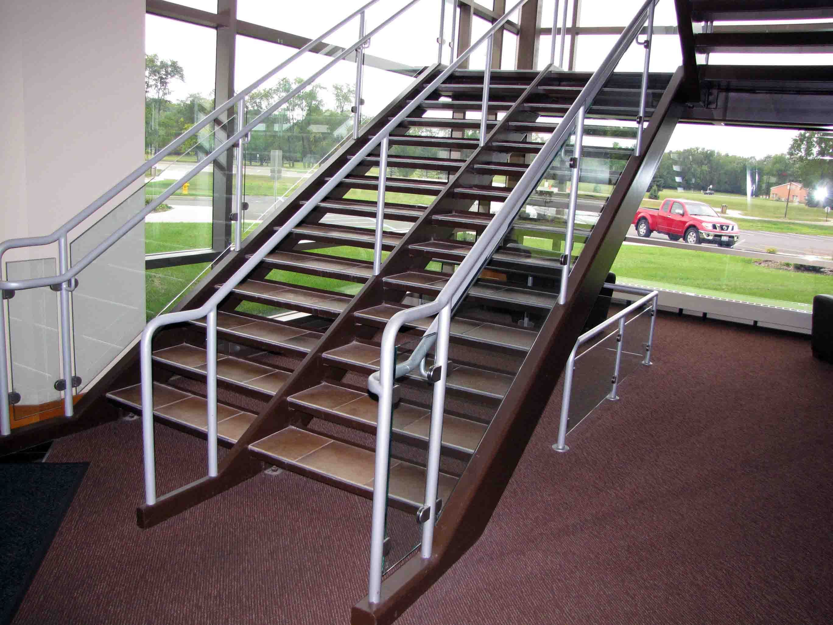 Prefabricated Metal Staircases Pinnacle Metal Products